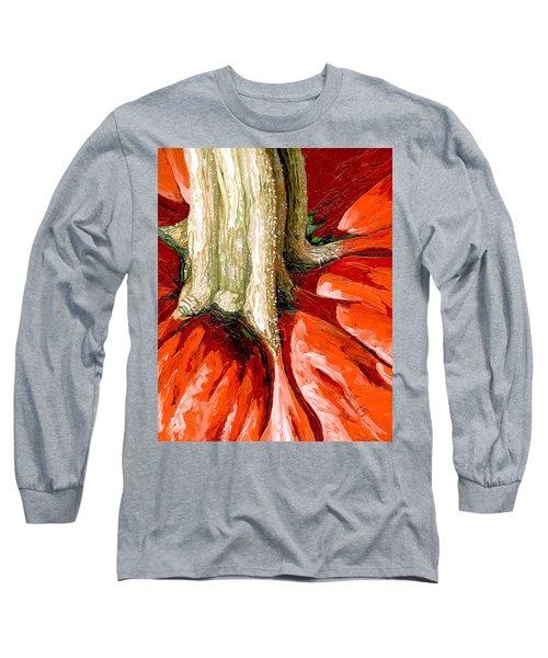 Pumpkin Stem Long Sleeve T-Shirt