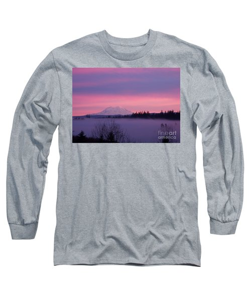 Long Sleeve T-Shirt featuring the photograph Purple Mountain Majesty by Chalet Roome-Rigdon