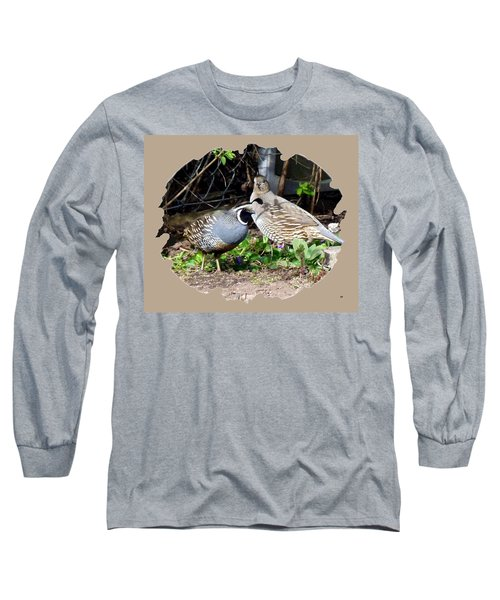 Quail Mates Long Sleeve T-Shirt