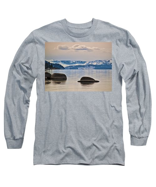 Quiet Lake Tahoe Long Sleeve T-Shirt