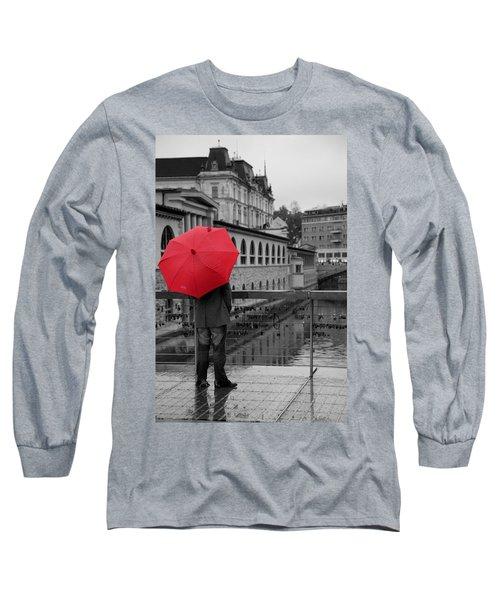 Rainy Days In Ljubljana Long Sleeve T-Shirt