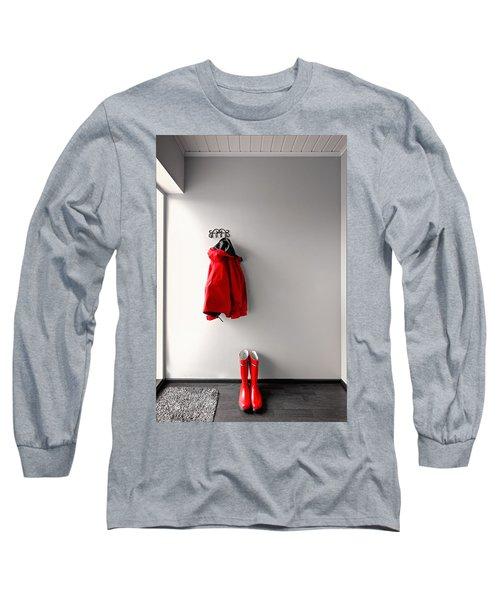 Ready For Rain Long Sleeve T-Shirt by Ari Salmela