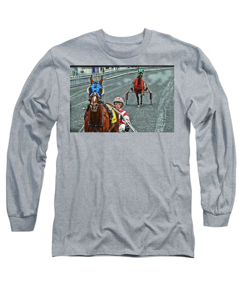 Long Sleeve T-Shirt featuring the photograph Ready To Race by Alice Gipson