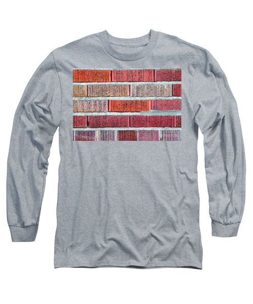 Red Brick Wall Long Sleeve T-Shirt