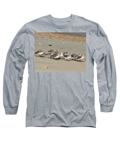 Resting Sandpipers Long Sleeve T-Shirt