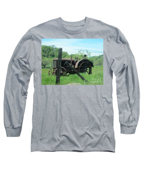 Retired Long Sleeve T-Shirt by Laurianna Taylor