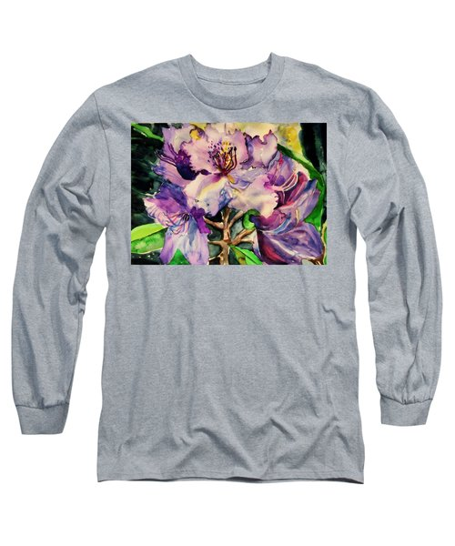Rhododendron Violet Long Sleeve T-Shirt