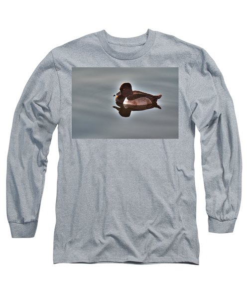 Long Sleeve T-Shirt featuring the photograph Ring-necked Duck by Tam Ryan