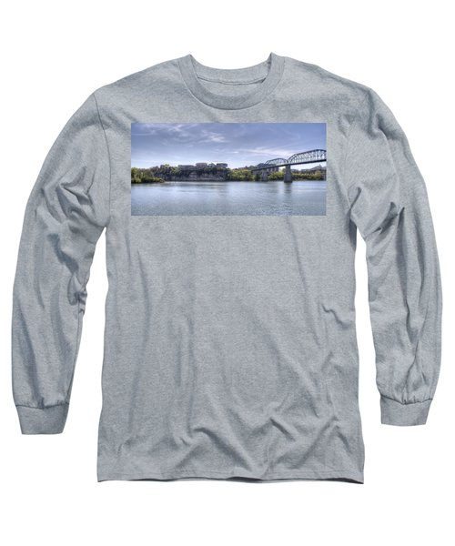 River Bluff Long Sleeve T-Shirt by David Troxel