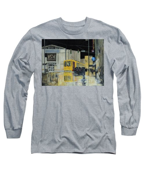 Rivermarket Streetcar 411 Long Sleeve T-Shirt by Angelo Thomas