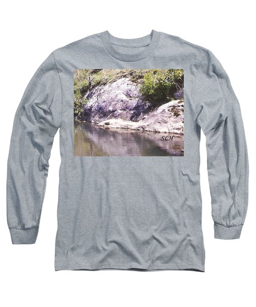 Rocks On The Bank Long Sleeve T-Shirt
