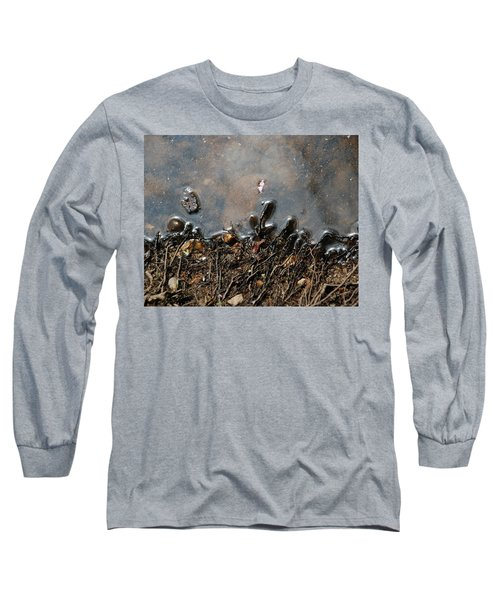 Long Sleeve T-Shirt featuring the photograph Roots In Water by Kay Lovingood