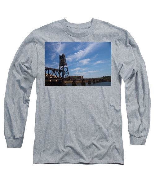 Long Sleeve T-Shirt featuring the photograph Rusted Bridge by Stephanie Nuttall
