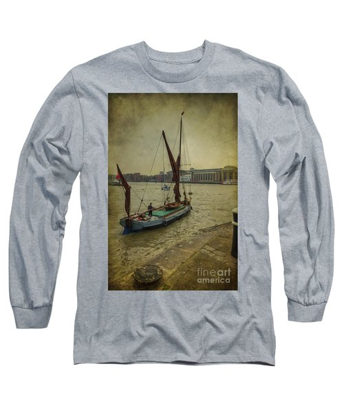 Long Sleeve T-Shirt featuring the photograph Sailing Away... by Clare Bambers
