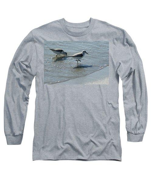 Sandpiper 7 Long Sleeve T-Shirt by Joe Faherty