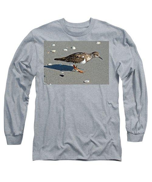 Sandpiper 9 Long Sleeve T-Shirt by Joe Faherty