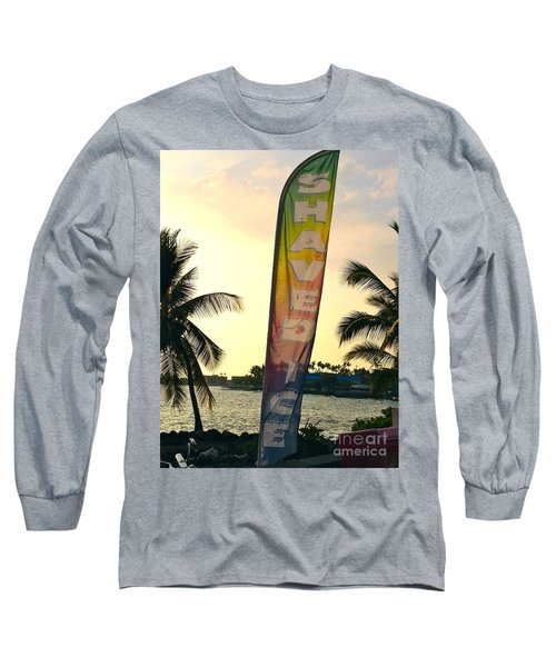 Shaved Ice Long Sleeve T-Shirt by Beth Saffer