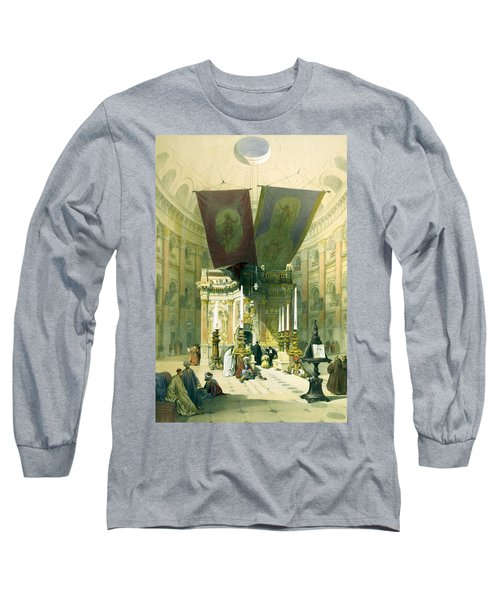 Shrine Of The Holy Sepulchre April 10th 1839 Long Sleeve T-Shirt
