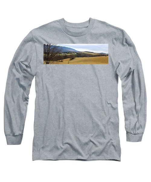 Small Town Long Sleeve T-Shirt by Kume Bryant
