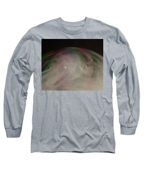 Smoke Bubble Long Sleeve T-Shirt by Cathie Douglas
