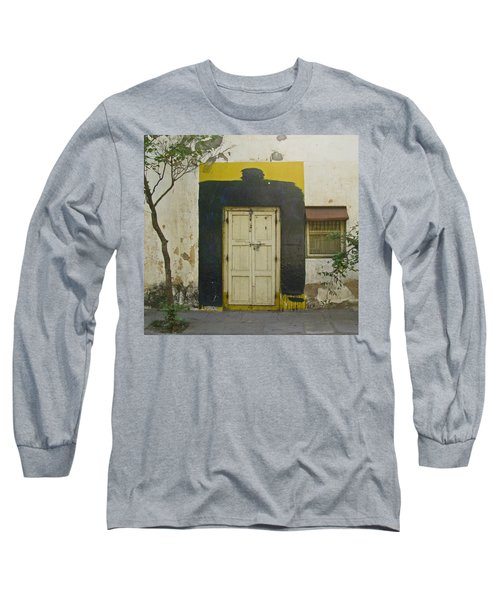 Long Sleeve T-Shirt featuring the photograph Somebody's Door by David Pantuso