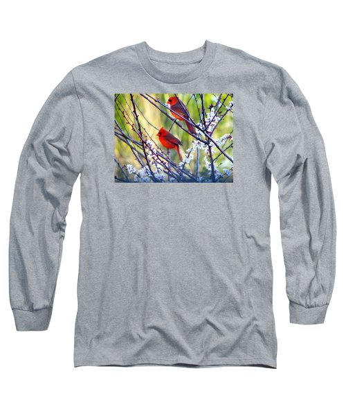 Song Of Spring Long Sleeve T-Shirt by Judy Wanamaker