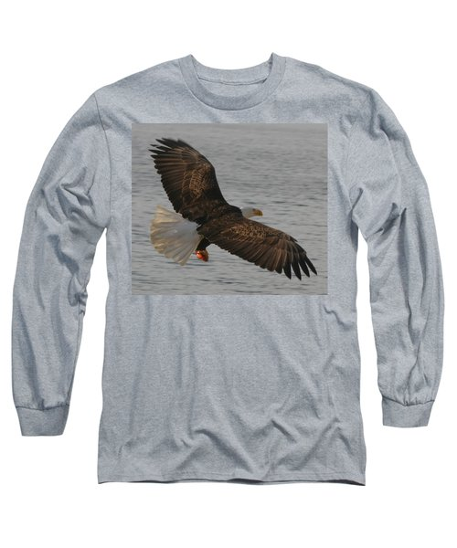 Long Sleeve T-Shirt featuring the photograph Spread Eagle by Kym Backland