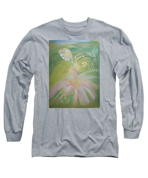 Spring Fairy Entrance Long Sleeve T-Shirt by Judith Desrosiers