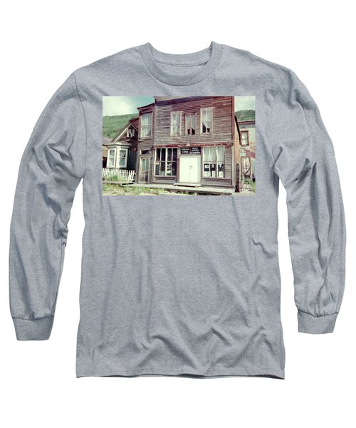 Long Sleeve T-Shirt featuring the photograph Stark Bros Store by Bonfire Photography