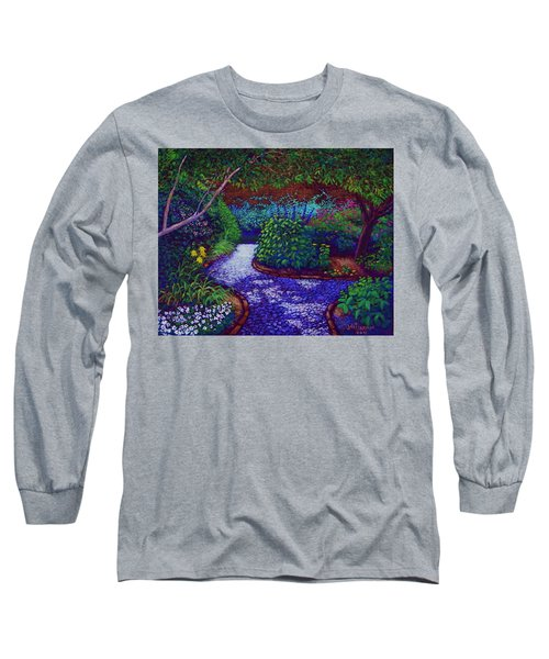 Southern Garden Long Sleeve T-Shirt by Jeanette Jarmon