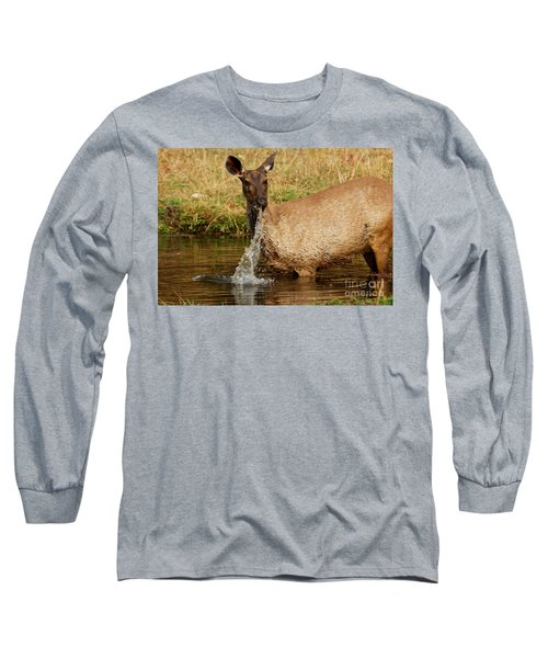 Long Sleeve T-Shirt featuring the photograph Startled by Fotosas Photography