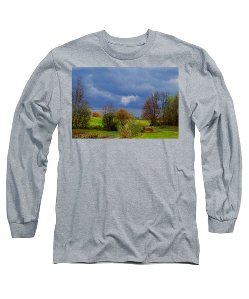 Long Sleeve T-Shirt featuring the photograph Storm Cell by Kathryn Meyer