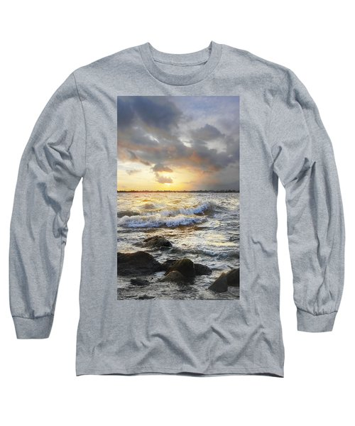 Storm Waves Long Sleeve T-Shirt