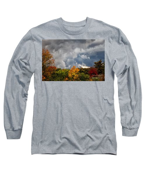 Storms Coming Long Sleeve T-Shirt by Ronald Lutz