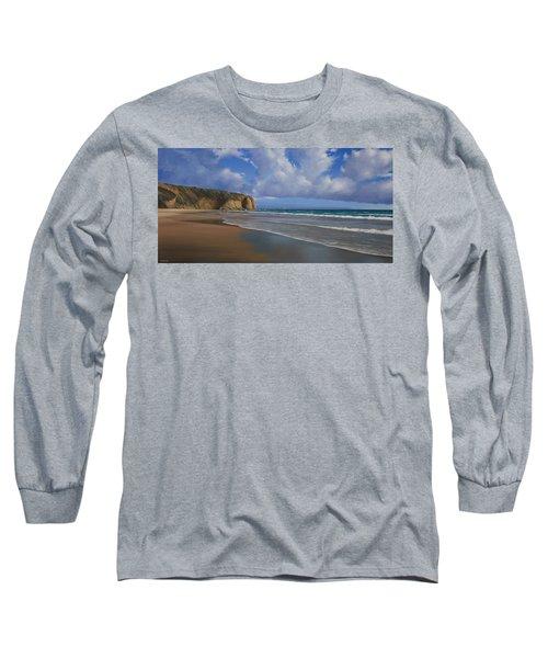 Strands Beach Dana Point Painting Long Sleeve T-Shirt