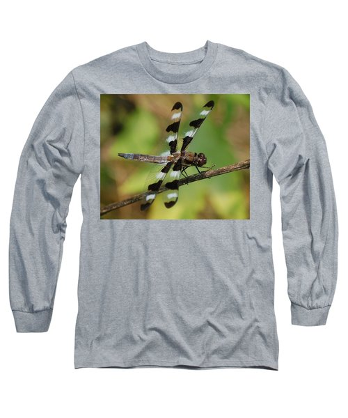 Summer Dragonfly Long Sleeve T-Shirt