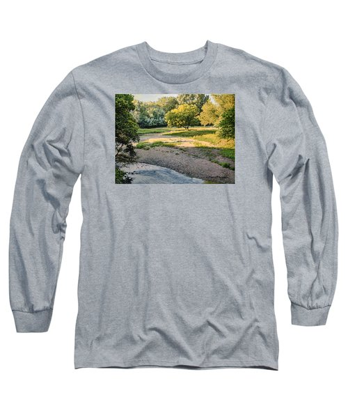 Summer Evening Along The Creek Long Sleeve T-Shirt