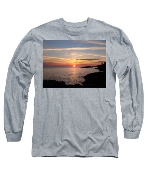 Long Sleeve T-Shirt featuring the photograph Sun Up On The Up by Bonfire Photography