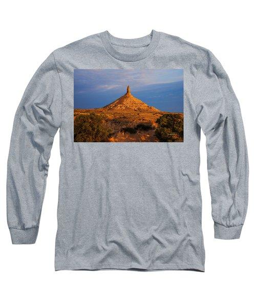 Sunrise At Chimney Rock Long Sleeve T-Shirt