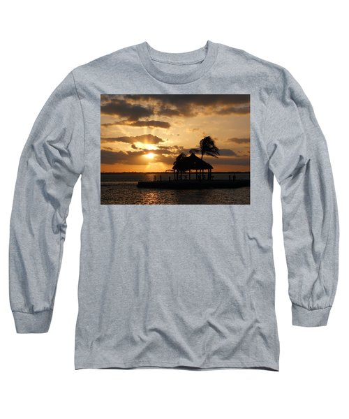 Long Sleeve T-Shirt featuring the photograph Sunrise Over Bay by Clara Sue Beym