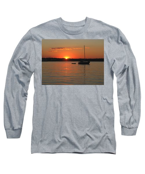 Long Sleeve T-Shirt featuring the photograph Sunset Cove by Clara Sue Beym