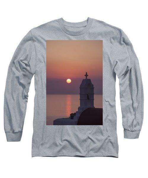 sunset in Greece Long Sleeve T-Shirt