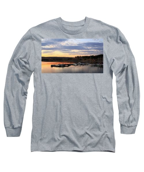 Sunset On The Lake Long Sleeve T-Shirt