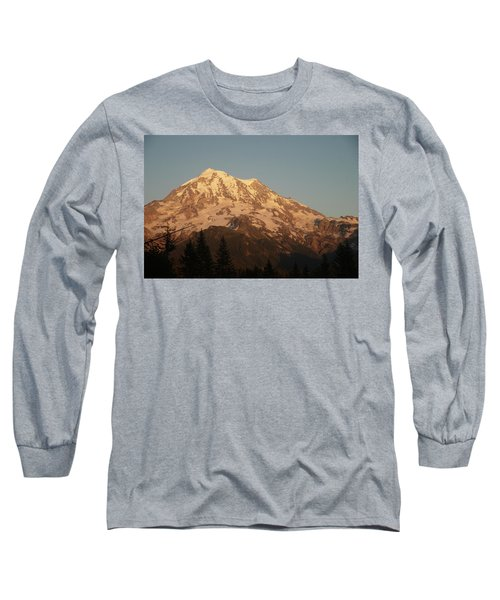 Sunset On The Mountain Long Sleeve T-Shirt