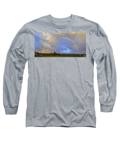 Sunset Rainbow Long Sleeve T-Shirt