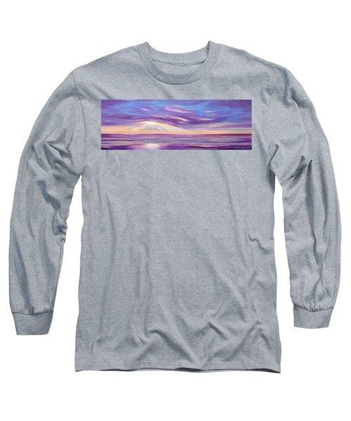 Sunset Spectacular - Panoramic Sunset Long Sleeve T-Shirt