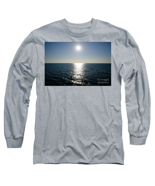 Sunshine Over The Mediterranean Sea Long Sleeve T-Shirt