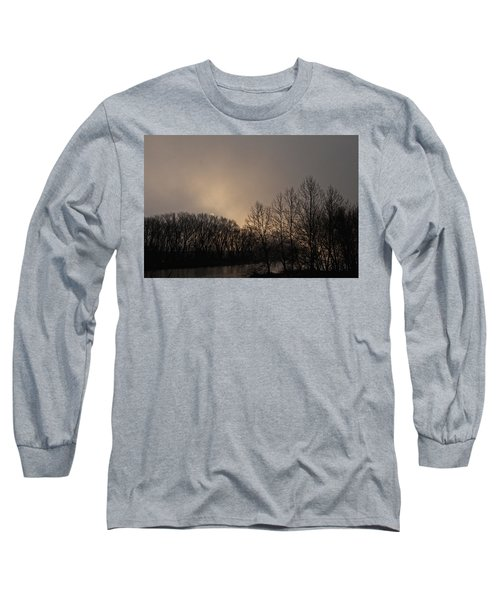 Susquehanna River Sunrise Long Sleeve T-Shirt