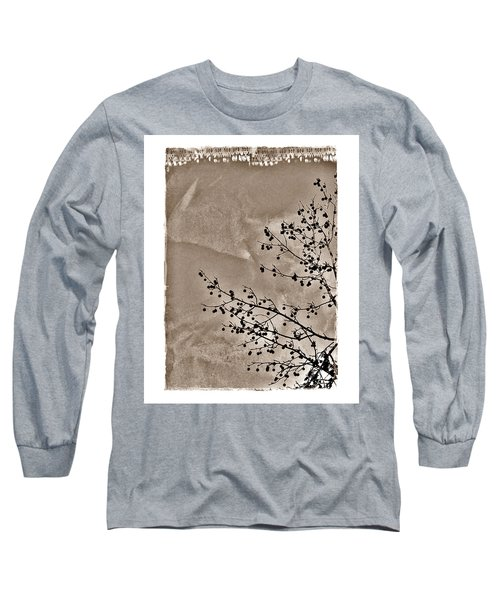 Sweetgum Sepia Long Sleeve T-Shirt by Judi Bagwell