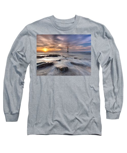 Talacre Lighthouse  Long Sleeve T-Shirt